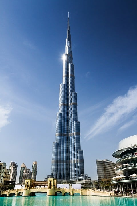 Things to do in Dubai - Burj Khalifa